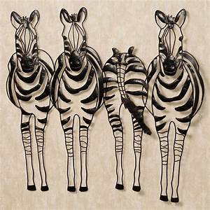 You go your way zebra metal wall sculpture art for Zebra wall art
