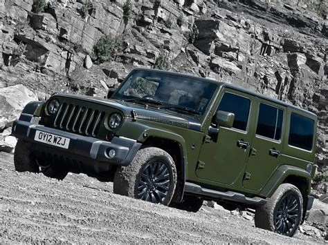 jeep wrangler military green kahn reimagines jeep wrangler unlimited in a military
