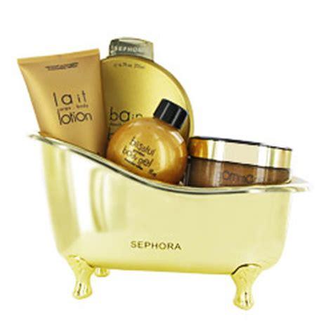 baignoire caramel sephora