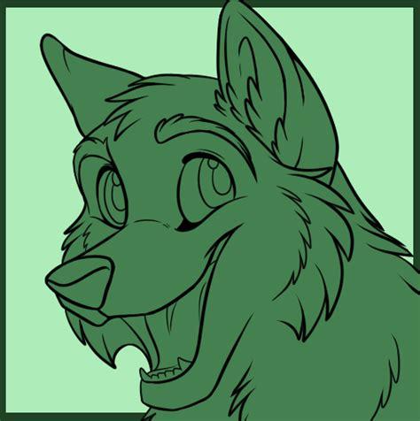 cartoon wolf cub icon psd  starwuff