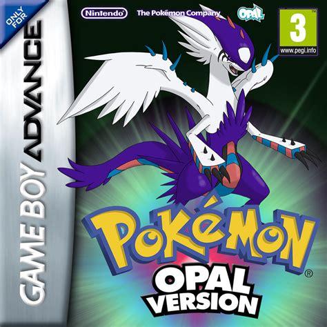 pokemon fan games pokemon dyko opal gba cover by blackyspyro on deviantart