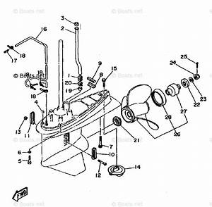 Yamaha Outboard Parts By Hp 115hp Oem Parts Diagram For Lower Casing Drive 2 115 130