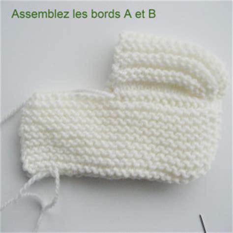 modele tricot chausson bebe phildar design bild