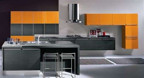 Small Modern Kitchen Ideas - cocinas modernas con isla