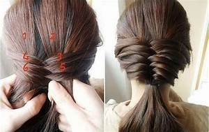 How To Make Tutorial Fishtail Hairstyle Step By Step