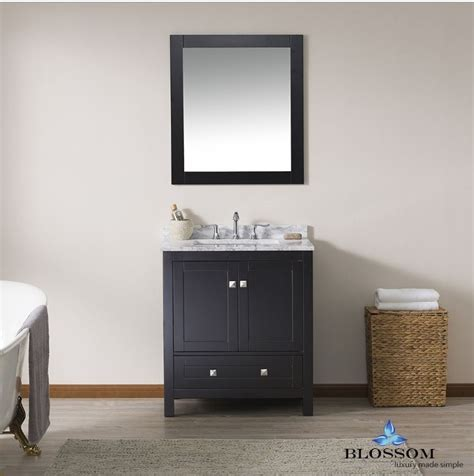 blossom bathroom vanity dubai   color espresso