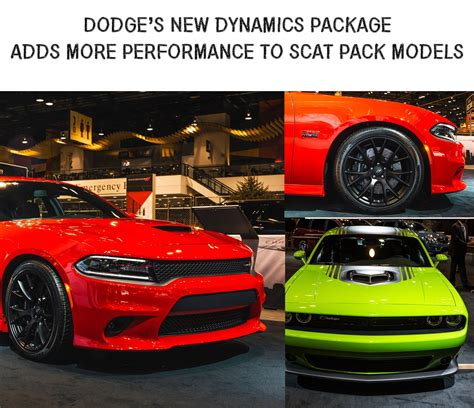 New Scat Pack Dynamics Package For Dodge Charger And