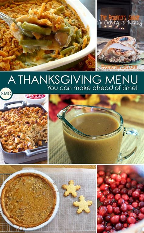 thanksgiving day menu ideas make ahead thanksgiving menu ideas to save you time on the day thanksgiving menu leftover