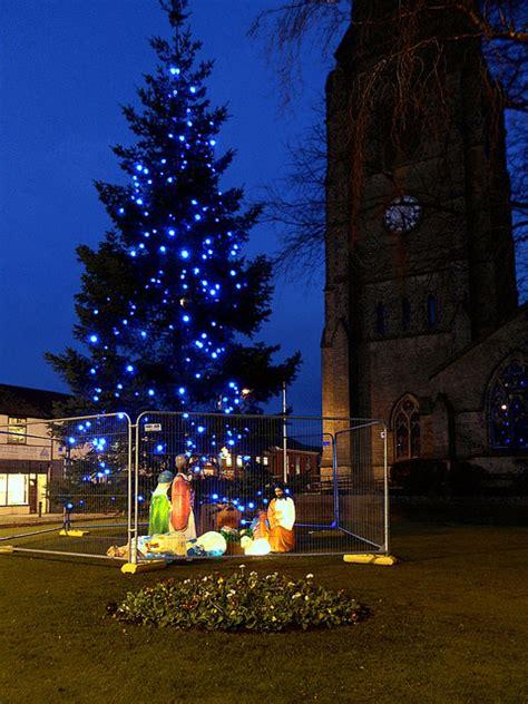 christmas tree  nativity heywood  david dixon cc