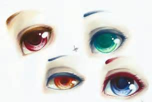 Semi-Realistic Anime Eye Drawing