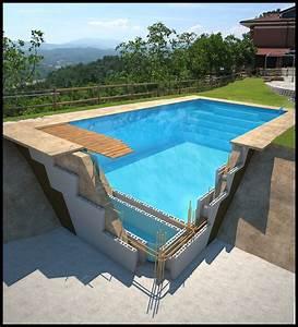 Prix Piscine Beton : piscine sur mesure beton ~ Nature-et-papiers.com Idées de Décoration