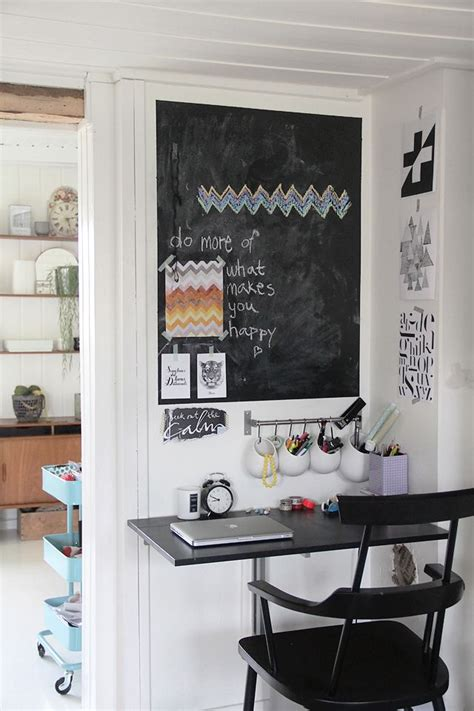 smart chalkboard home office decor ideas digsdigs