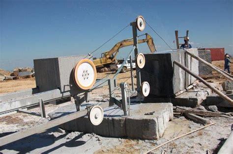 wire saw machine quarry machinery huada