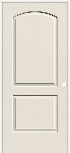 2 panel arch top interior doors 6 8 quot 2 panel arch smooth molded interior prehung