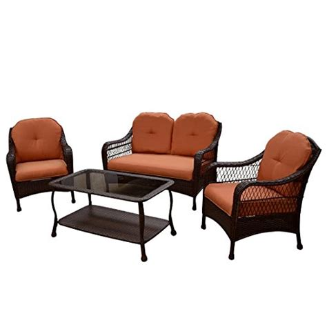 better homes and gardens wicker patio cushions patio furniture all weather wicker outdoor lawn garden