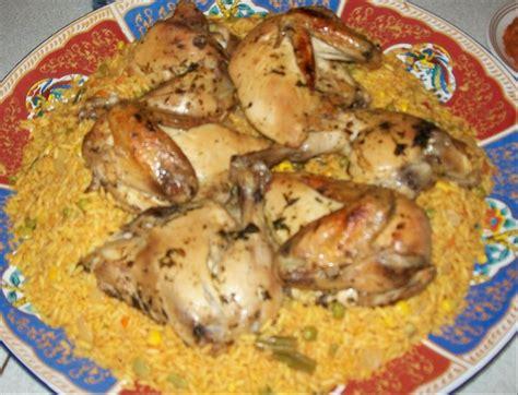 cuisine de ratiba recettes de poulet au four a la marocaine