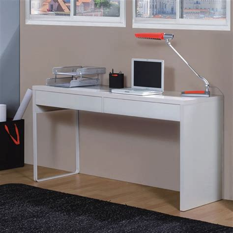 bureau blanc brillant object moved