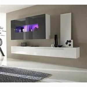 Meuble Sous Tv Suspendu : meuble sous tele murale mobilier tv design trendsetter ~ Teatrodelosmanantiales.com Idées de Décoration