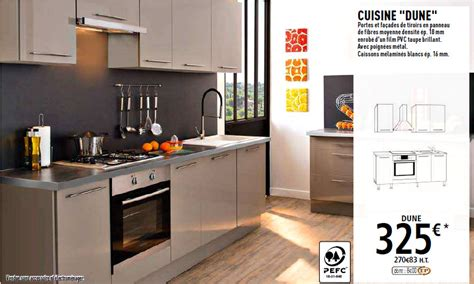 meuble cuisine lave vaisselle les cuisines brico dépôt le des cuisines