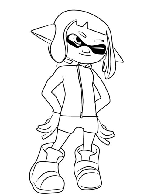 splatoon coloring pages  coloring pages  kids