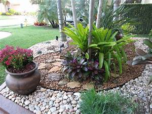 fla rock garden landscape With what kind of paint to use on kitchen cabinets for al s garden art wall fountains