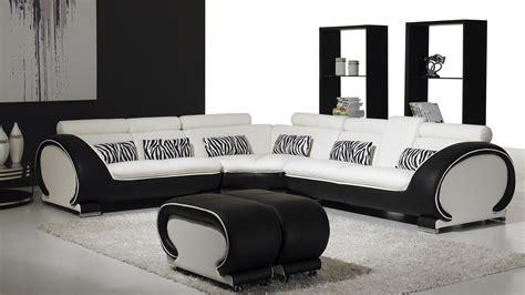 vente canape vente canape angle design okyo blanc noir mobiliermoss