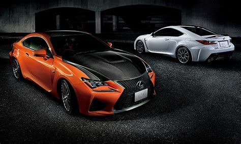 Lexus Launches All-new 'rc F' High-performance Coupe In