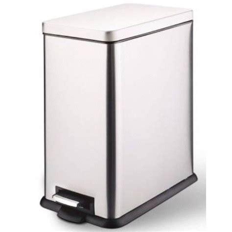magasin evier cuisine poubelle de cuisine à pédale métal métal 40 l leroy merlin