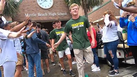 seahawk sendoff   myrtle beach boys tennis team