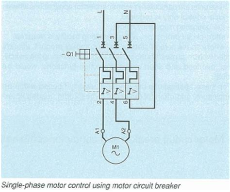 how can i use a motor circuit breaker type gv2 gv3 or gv7