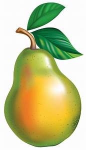 Pear PNG Clipart Picture  Pear