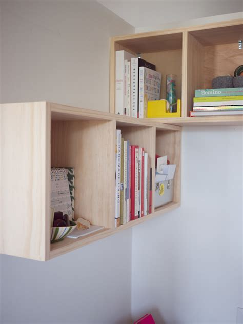 build  cube shelf   ideas  box shelves