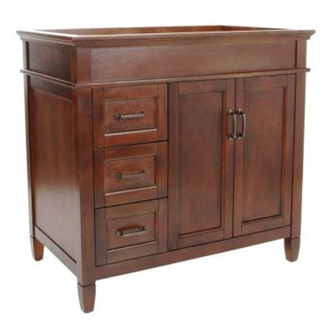 Home Depot Foremost Bathroom Vanities by Foremost Ashburn 36 In W X 21 5 In D X 34 In H Vanity