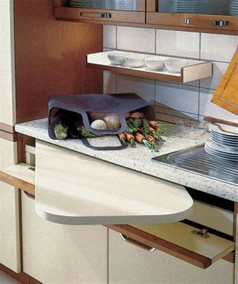 Kitchen Hacks Space by Pull Out Counter Space In Your Kitchen Ideas For Tiny
