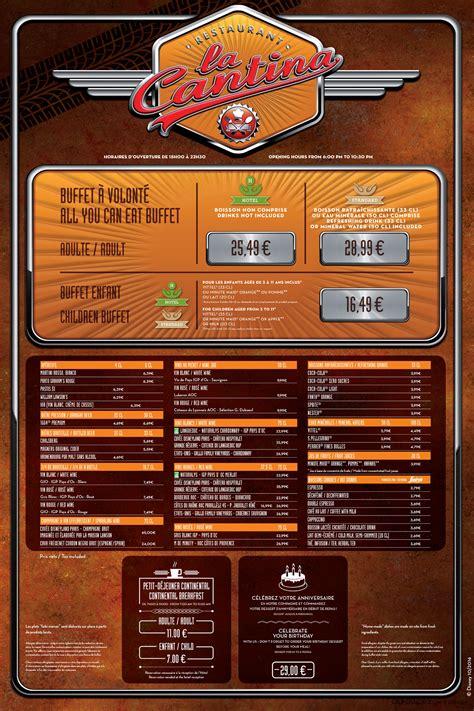 la cantina menu dlp guide disneyland paris restaurants dining places  eat