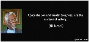 Concentration a... Bill Russell Basketball Quotes
