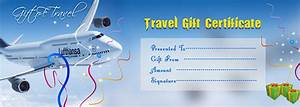 best photos of christmas travel gift voucher template With vacation certificate template