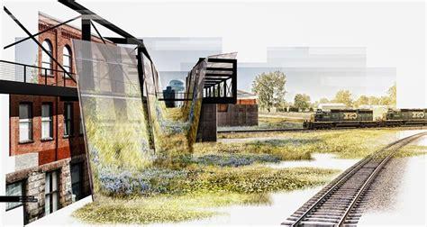 render quick collage visualizing architecture