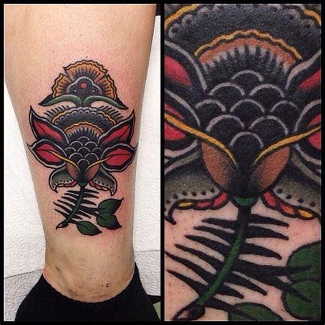 nice flower tattoo  james mckenna tattoomagz