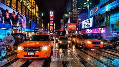 Street York Wallpapers Streets Nyc Background Night