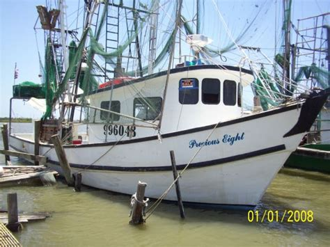 Shrimp Boat For Sale Louisiana by 1994 Fiberglass Wood Boat Trawler For Sale In
