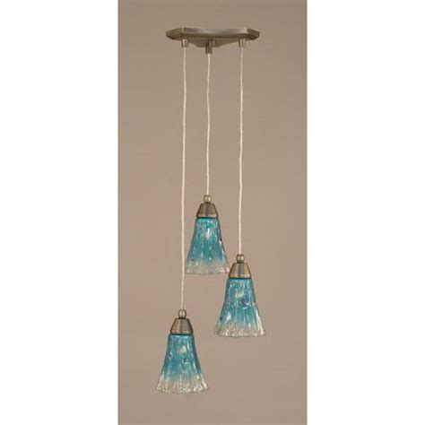 teal glass pendant teal glass pendant bellacor