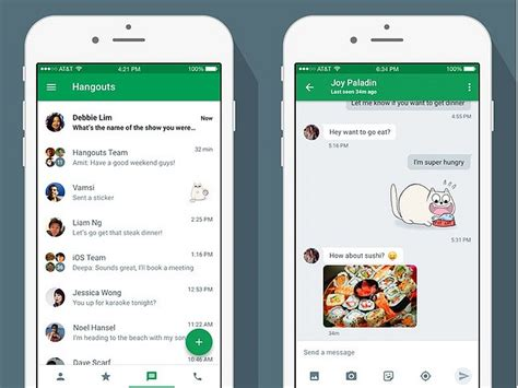 hangouts app iphone hangouts v5 1 rolling out with bug fixes and
