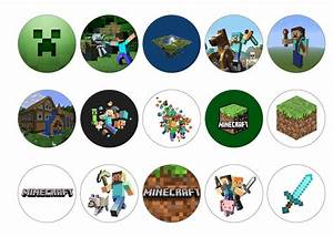 Minecraft – My Cupcake Toppers