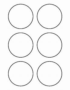 Printable 3 Inch Circle Template
