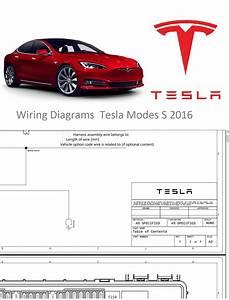 Wiring Diagrams Tesla Model S 2016
