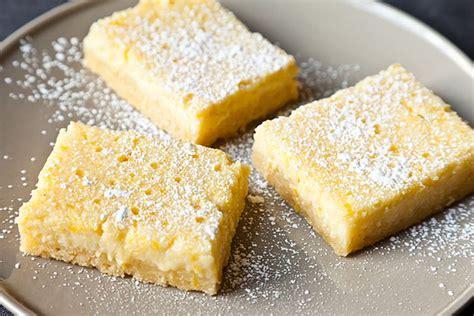 dessert recipes ricotta cheese lemon ricotta bars recipe on food52