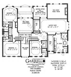 master on house plans calabria house plan dual master house plans