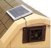 solar shed fan solar powered vent fan panel gable mounted ventilator