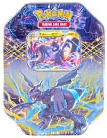 2012 pokemon spring ex collectors tin zekrom